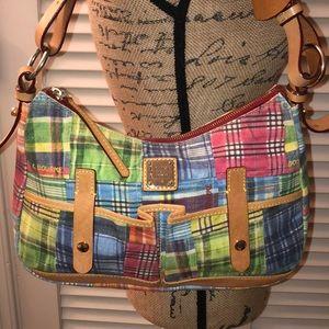 Dooney and Bourke Summer Picnic Shoulder Bag